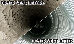 Dryer Vent before-after